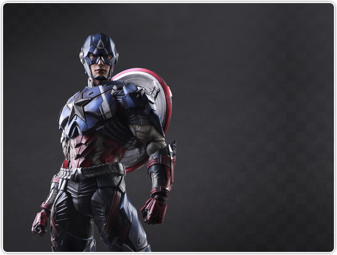 Play Arts Kai Captain America