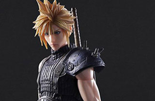 Play Arts Kai Cloud Strife Final Fantasy VII Remake