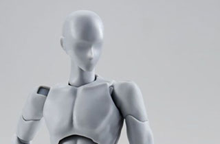 S.H.Figuarts Body kun Rihito Takarai Edition DX Set Gray Color