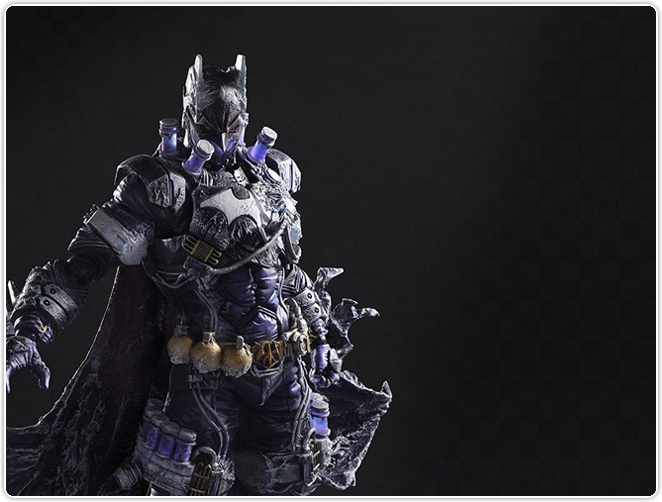 Variant Play Arts Kai Batman Rogues Gallery Mr. Freeze