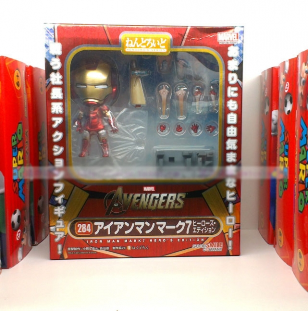 Nendoroid Iron Man Mark 7 Hero's Edition