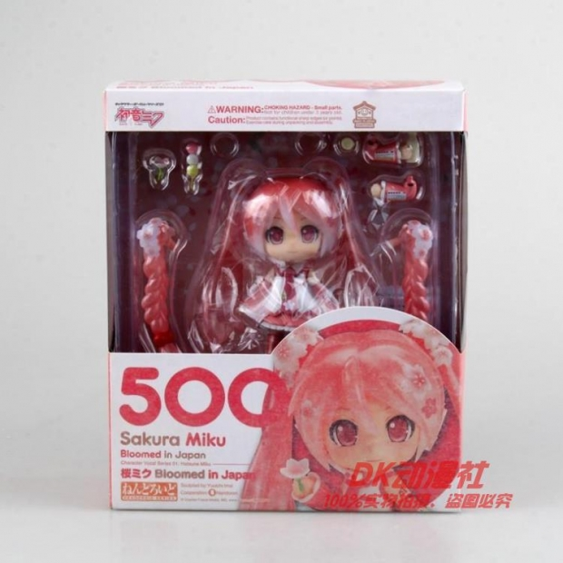 Nendoroid Sakura Miku Bloomed in Japan