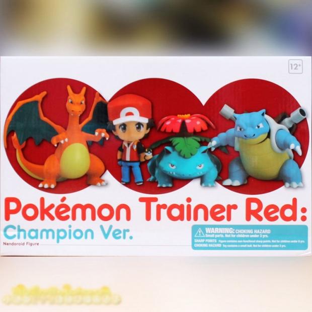 Nendoroid Pokemon Trainer Red Champion Ver.