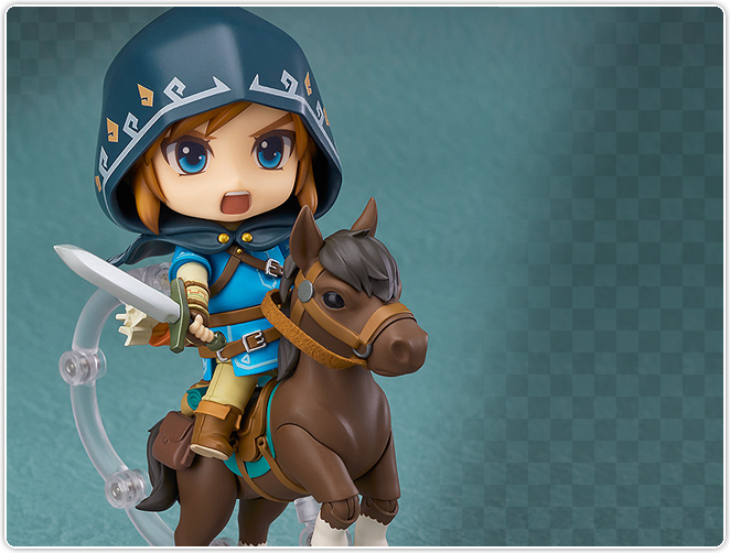 Nendoroid Link Breath of the Wild Ver. DX Edition