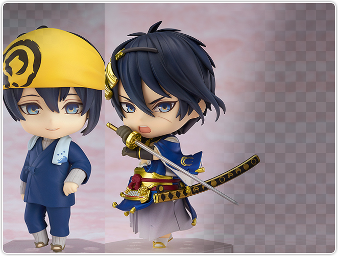 Nendoroid Co-de Mikazuki Munechika Uchiban & Awakened Co-de