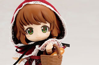 Cu-poche Friends Akazukin Little Red Riding Hood