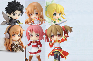 Sword Art Online Niitengo Deluxe (Set of 6)