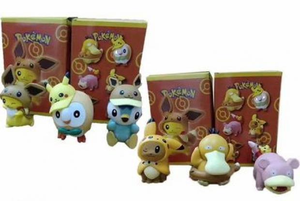 Pokemon 6 Pikachu Jenny