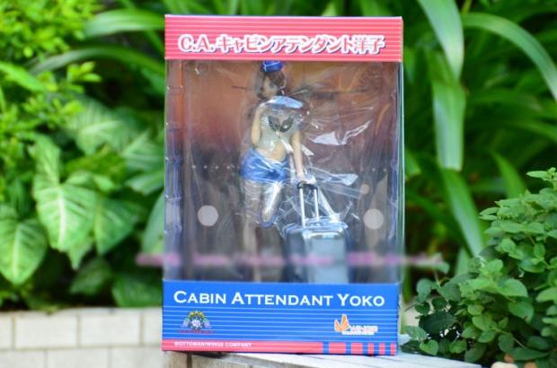 C.A Cabin Attendant Yoko Blue Airline Ver.
