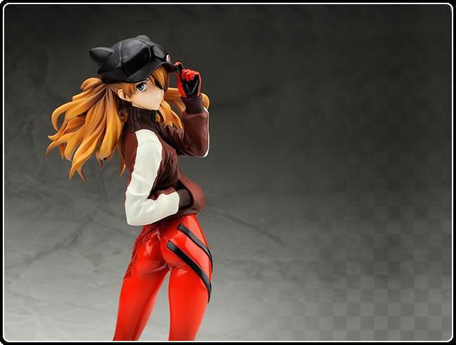 Shikinami Asuka Langley Jersey Ver. with Hat Figure 1/7 ...  Shikinami Asuka...