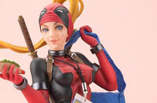Bishoujo Statue Lady Deadpool Limited Edition
